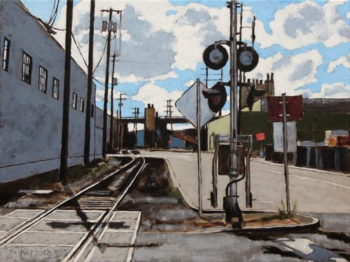 Lost Tracks Oil on Canvas 24x18 2015