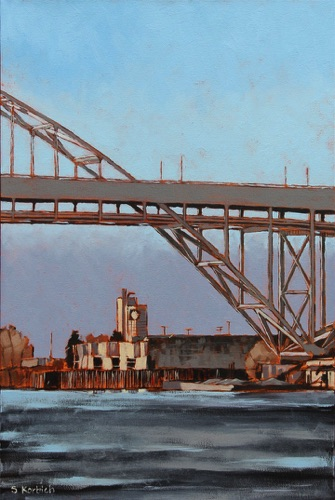 Fremont Arc Oil on Canvas 16x24  SOLD